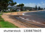 panoramic view of collaroy... | Shutterstock . vector #1308878605