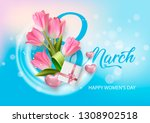 greeting card international... | Shutterstock .eps vector #1308902518