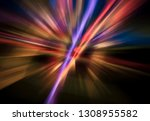 abstract multicolored... | Shutterstock . vector #1308955582