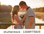 love and affection between a... | Shutterstock . vector #1308975835