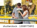 love and affection between a... | Shutterstock . vector #1308975892