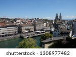zurich  switzerland   june 23 ...   Shutterstock . vector #1308977482