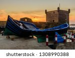 sightseeing of morocco.... | Shutterstock . vector #1308990388