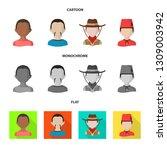 vector design of imitator and... | Shutterstock .eps vector #1309003942