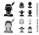 vector design of imitator and... | Shutterstock .eps vector #1309006282