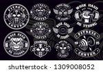 set of vintage badges  logos ... | Shutterstock .eps vector #1309008052