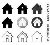 home icon set  home symbol set...