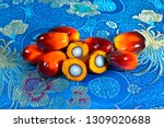 african oil palm elaeis... | Shutterstock . vector #1309020688