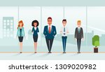 business people character... | Shutterstock .eps vector #1309020982