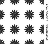 seamless floral pattern with... | Shutterstock .eps vector #1309027975