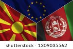 afghanistan and macedonia and...   Shutterstock . vector #1309035562