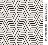 vector seamless pattern. modern ... | Shutterstock .eps vector #1309121488