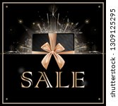 sale discounts concept with... | Shutterstock .eps vector #1309125295