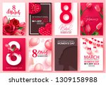 8 march international women's... | Shutterstock .eps vector #1309158988