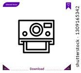 photo camera vector icon. best...