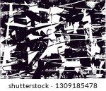 distressed background in black... | Shutterstock . vector #1309185478