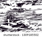 distressed background in black... | Shutterstock . vector #1309185502