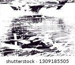 distressed background in black... | Shutterstock . vector #1309185505