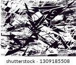 distressed background in black... | Shutterstock . vector #1309185508