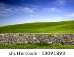 Beautiful Green Meadow With A...