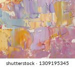 highly textured colorful...   Shutterstock . vector #1309195345