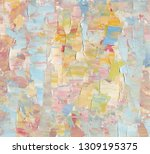 highly textured colorful...   Shutterstock . vector #1309195375