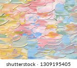 highly textured colorful...   Shutterstock . vector #1309195405