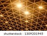 night building structures... | Shutterstock . vector #1309201945