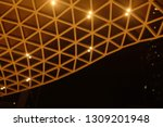 blur night building structures... | Shutterstock . vector #1309201948