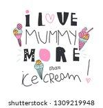 cool slogan for t shirt. modern ... | Shutterstock .eps vector #1309219948