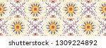 seamless floral pattern.... | Shutterstock .eps vector #1309224892