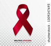 multiple myeloma awareness... | Shutterstock .eps vector #1309247695