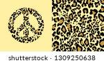 animal wallpaper and hippie... | Shutterstock .eps vector #1309250638