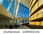 the lobby of oslo opera house ... | Shutterstock . vector #1309302142
