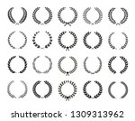 collection of different black... | Shutterstock .eps vector #1309313962