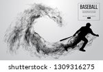 abstract silhouette of a...   Shutterstock .eps vector #1309316275