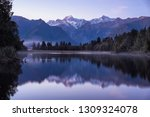 great winter panorama of the... | Shutterstock . vector #1309324078