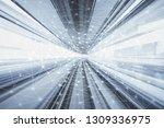 smart network concept  graphic... | Shutterstock . vector #1309336975