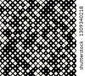 square halftone seamless... | Shutterstock .eps vector #1309340218