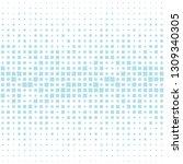 square halftone seamless... | Shutterstock .eps vector #1309340305