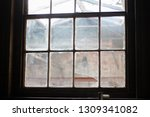 An Old Window From A Victorian...
