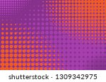 pop art background with ... | Shutterstock .eps vector #1309342975