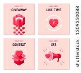 symbols for online promotion in ... | Shutterstock .eps vector #1309350088