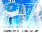 stock market concepts with... | Shutterstock . vector #1309351285