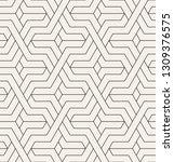 vector seamless pattern. modern ... | Shutterstock .eps vector #1309376575