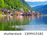 scenic picture postcard view of ... | Shutterstock . vector #1309415182
