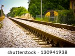 Rail Tracks Disappearing In The ...
