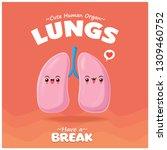 vintage internal body organ... | Shutterstock .eps vector #1309460752