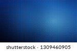 glowing halftone dots pattern.... | Shutterstock .eps vector #1309460905