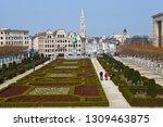 brussels  belgium   april 4th... | Shutterstock . vector #1309463875